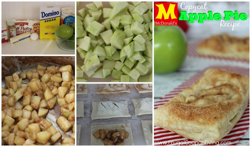 Copycat McDonald's Apple Pie Recipe - Baked Cinnamon Dessert