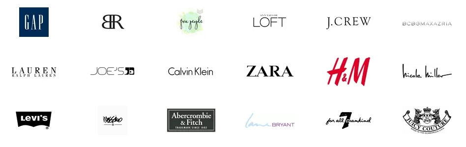 Designer Clothing Label Names grab designer name brand