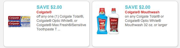 Colgate High Value Coupon