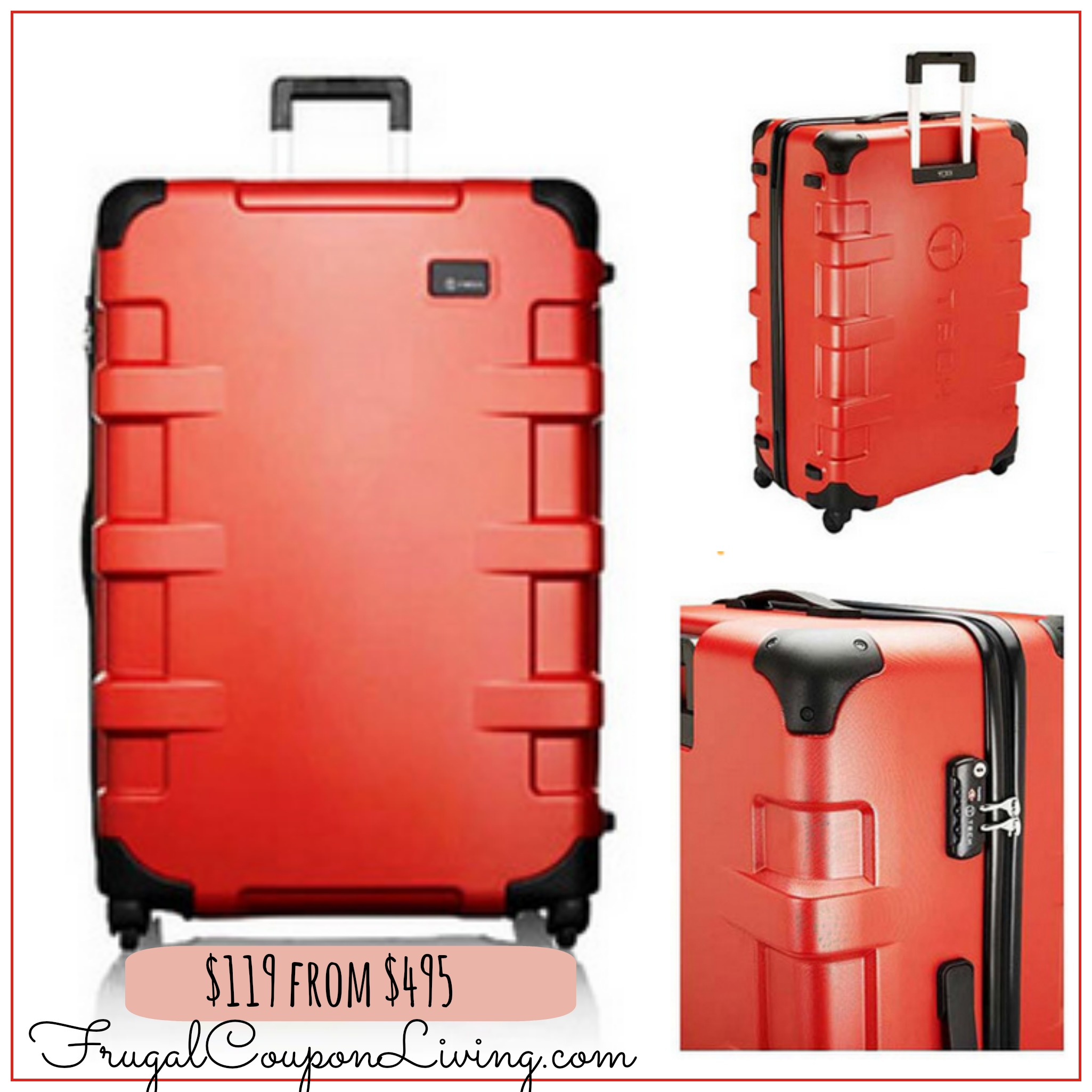 Hardcases Suitcase Sale - Tumi Cases for $119 from $495