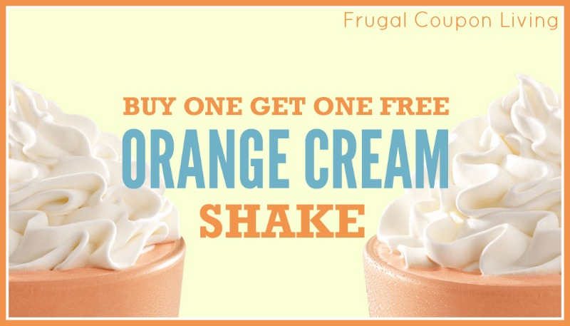 Head to Arby's and cool down with an Orange Cream Shake. Sweetin ...