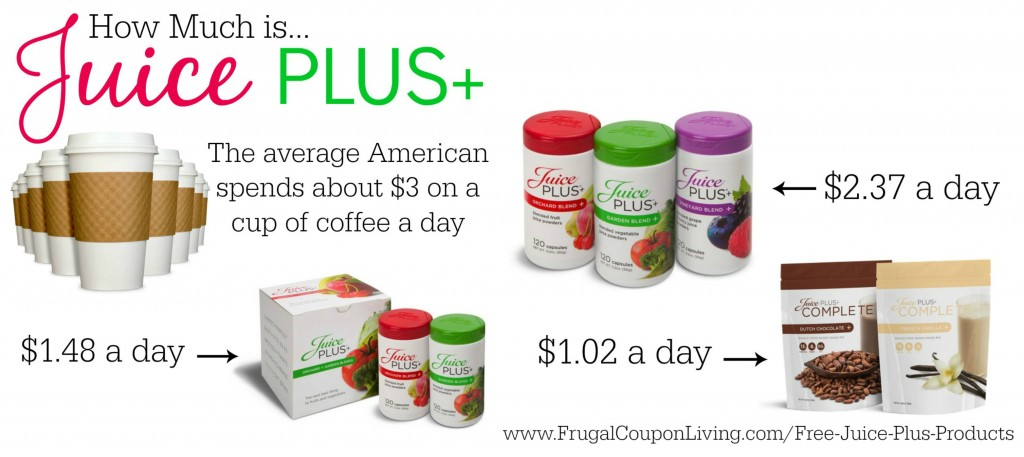 Juice plus coupons