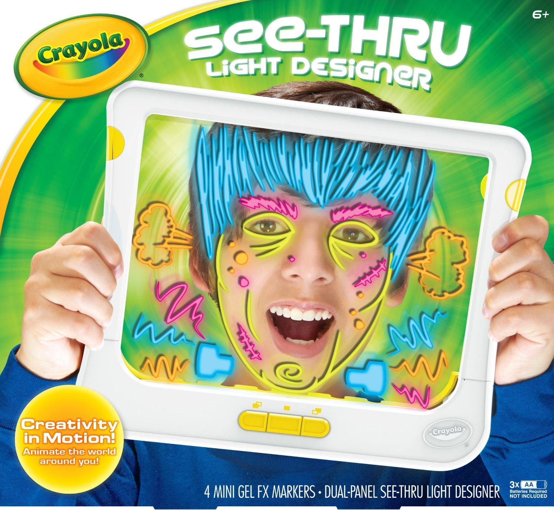 Crayola See Thru Light Designer Only 10 From