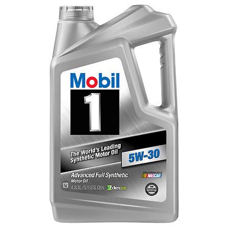 Mobil 1 Full Synthetic Motor Oil