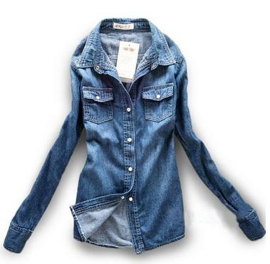 chambray jean shirt