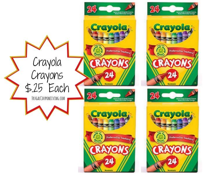 Crayola Crayons Deal