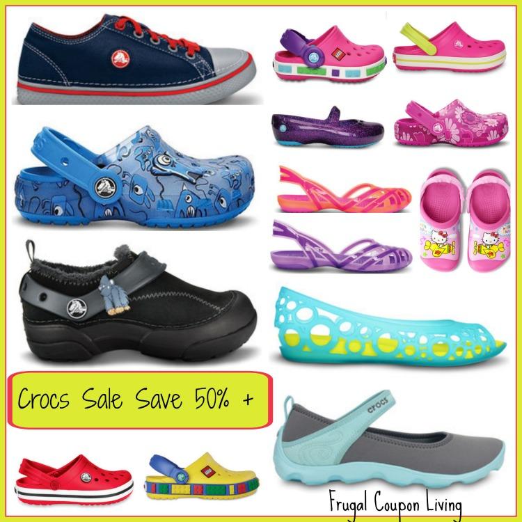 crocs 50% Off sale