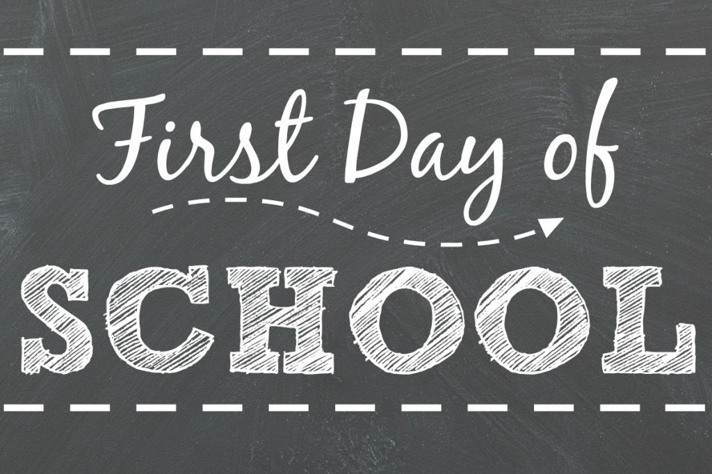 FREE First Day of School Printables – Signs for All Grades