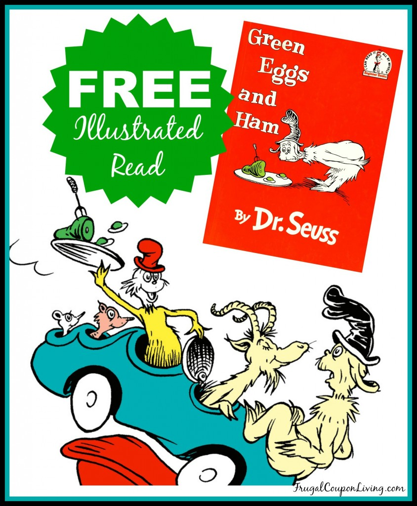 FREE Green Eggs and Ham Illustrated Read