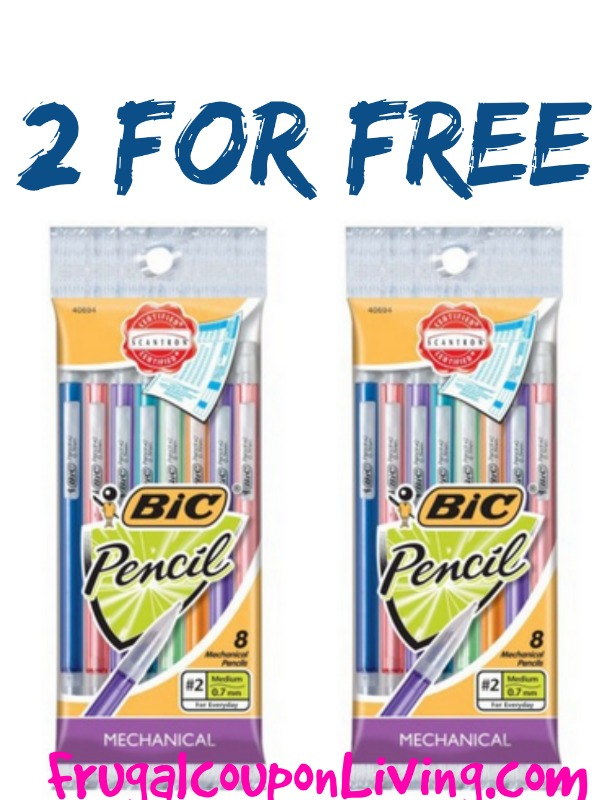 photograph about Bic Printable Coupons named Cost-free Mechanical Pencils with Refreshing Bic Coupon codes