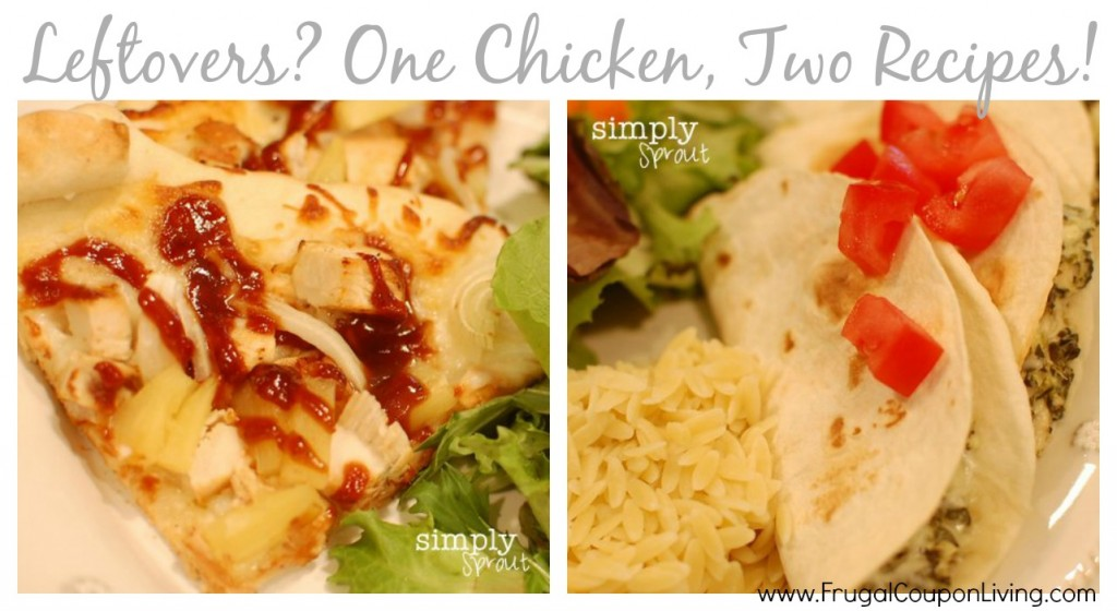 leftover-chicken-recipe-two-recipes-one-chicken