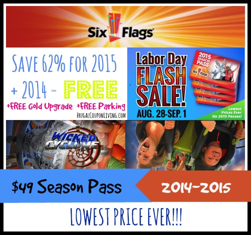 image regarding Six Flags Printable Coupons referred to as Promo code for 6 flags refreshing england : The large very simple raleigh menu