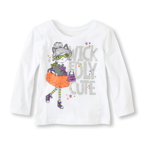1aHalloween Girl Graphic Tee
