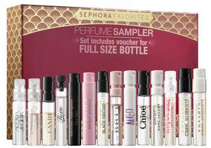 6fe8af787fa Sephora Favorites Perfume Sampler for  60
