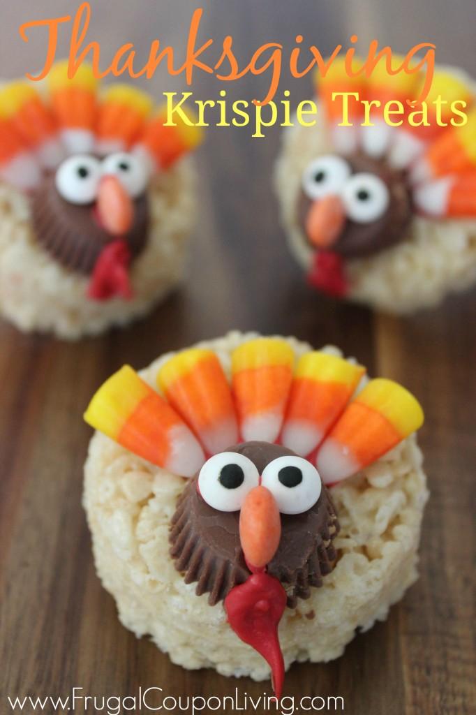 Turkey-Thanksgiving-Krispie-Treats-Frugal-Coupon-Living