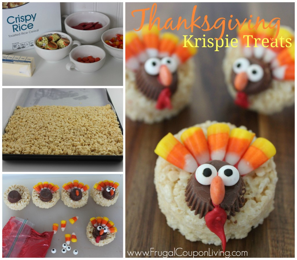 Turkey-Thanksgiving-Krispie-Treats-Frugal-Coupon-Living-collage