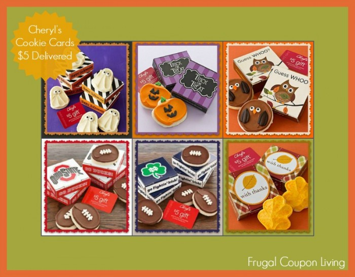 Cheryl's Cookie Card