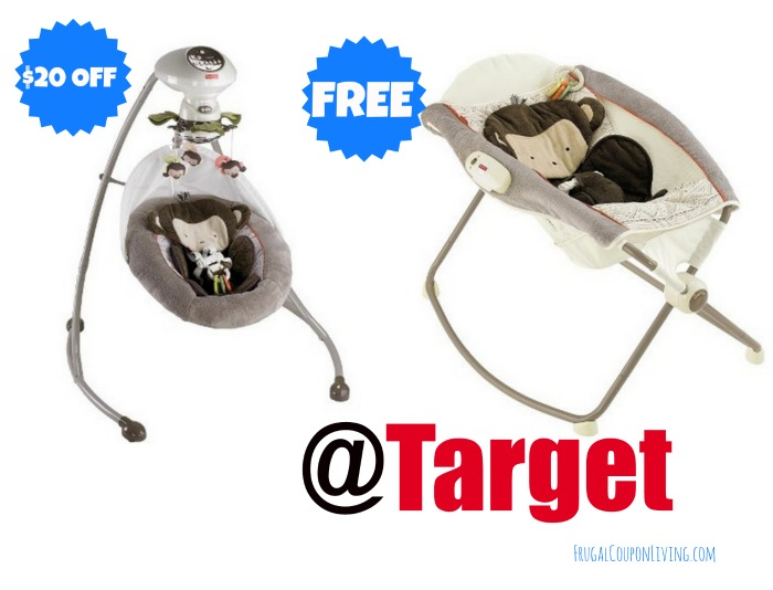 FREE Fisher-Price Deluxe Newborn Rock 'n Play