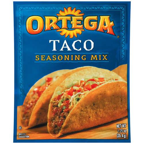 ortega taco seasoning mix