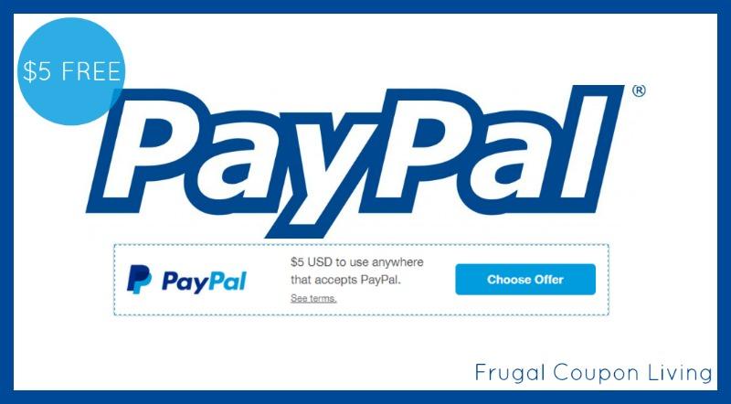 free 5 paypal credit