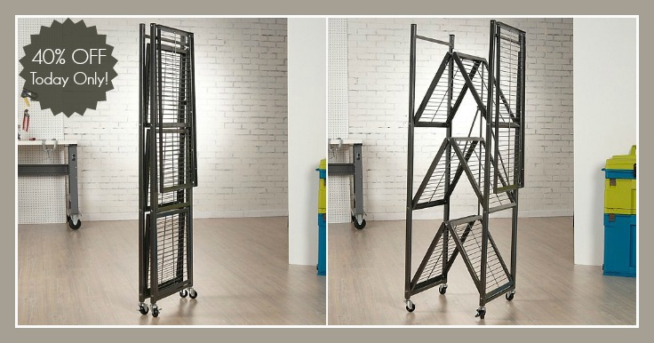 Get The Deal Of Day And Score This Origami 4 Shelf Collapsible Storage Rack Available In 3 Colors For 79 Down From 140 That Is 43 Savings Off An