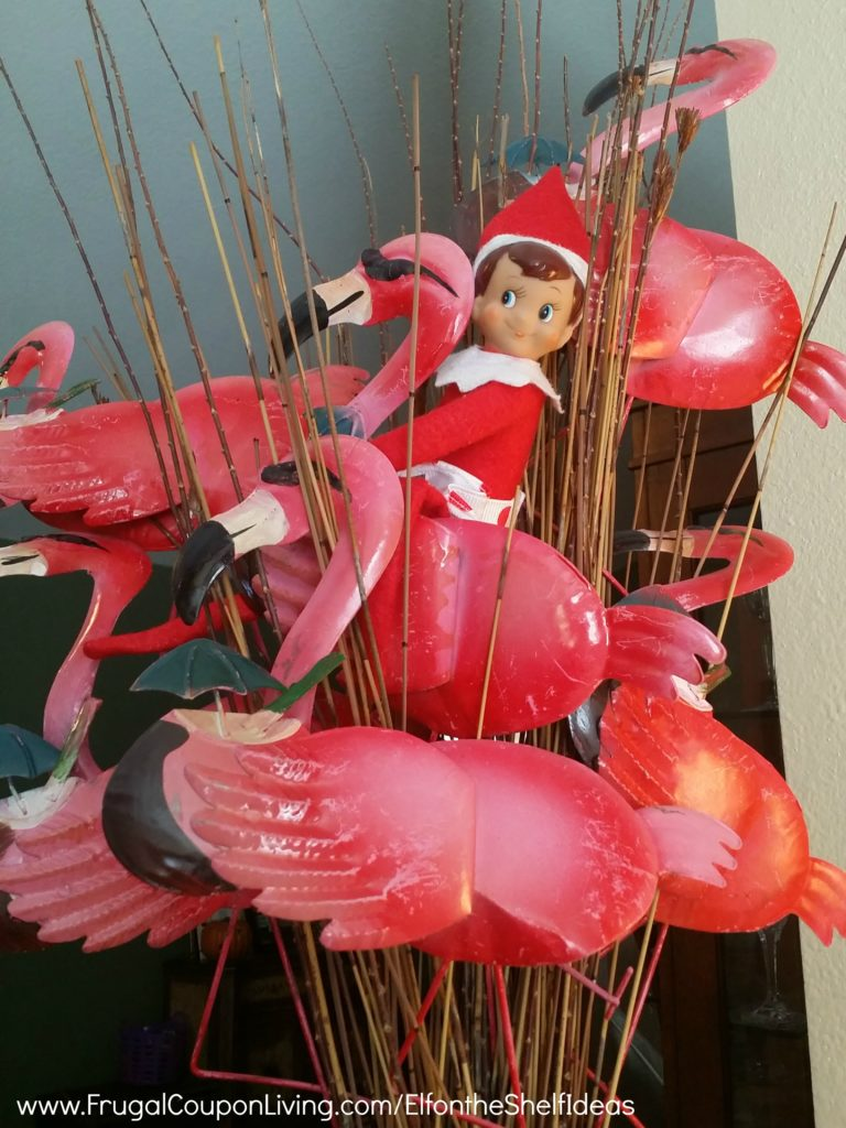 Elf-On-The-Shelf-Ideas-Frugal-Coupon-LIving-Flamingo