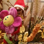 Elf-On-The-Shelf-Ideas-Frugal-Coupon-LIving-flower-arrangement
