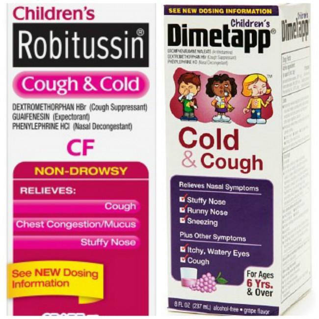 children's cold medicine
