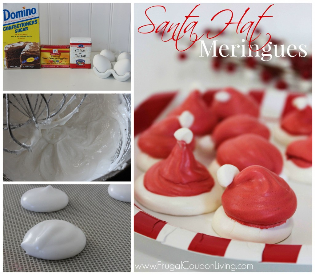 santa-hat-meringues-collage-frugal-coupon-living