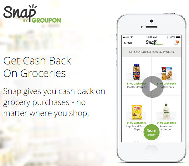 Yay! We have a new cash back app we can use to save while grocery