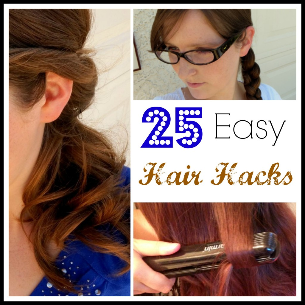 25 Easy Hairstyle Hacks