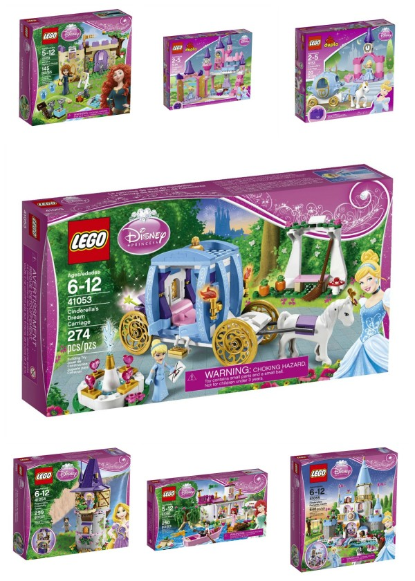 Disney Princess LEGOs