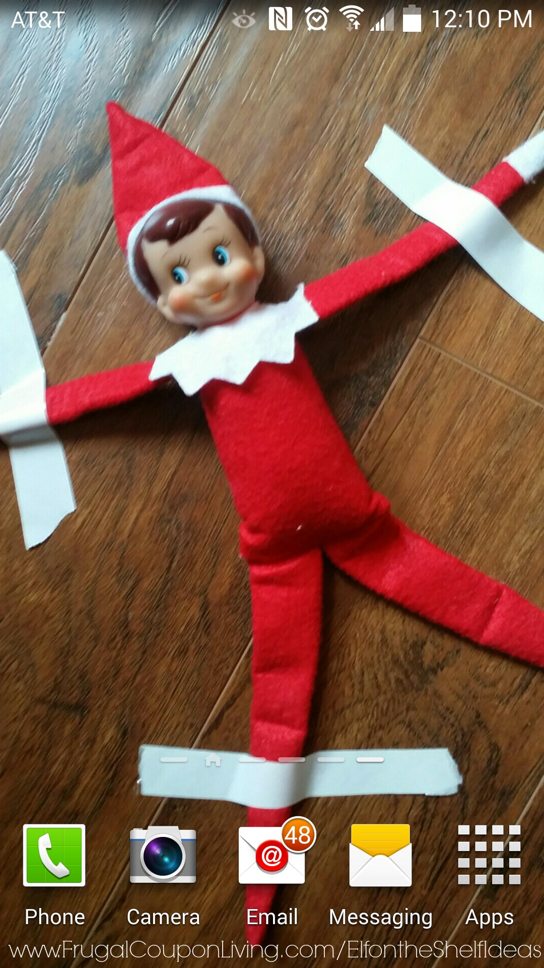 Easy The Elf On The Shelf Ideas Elf Is Stuck In The Phone