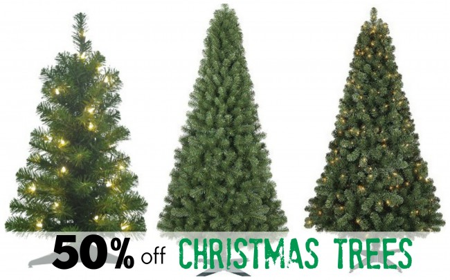 Get 50% off Christmas Trees