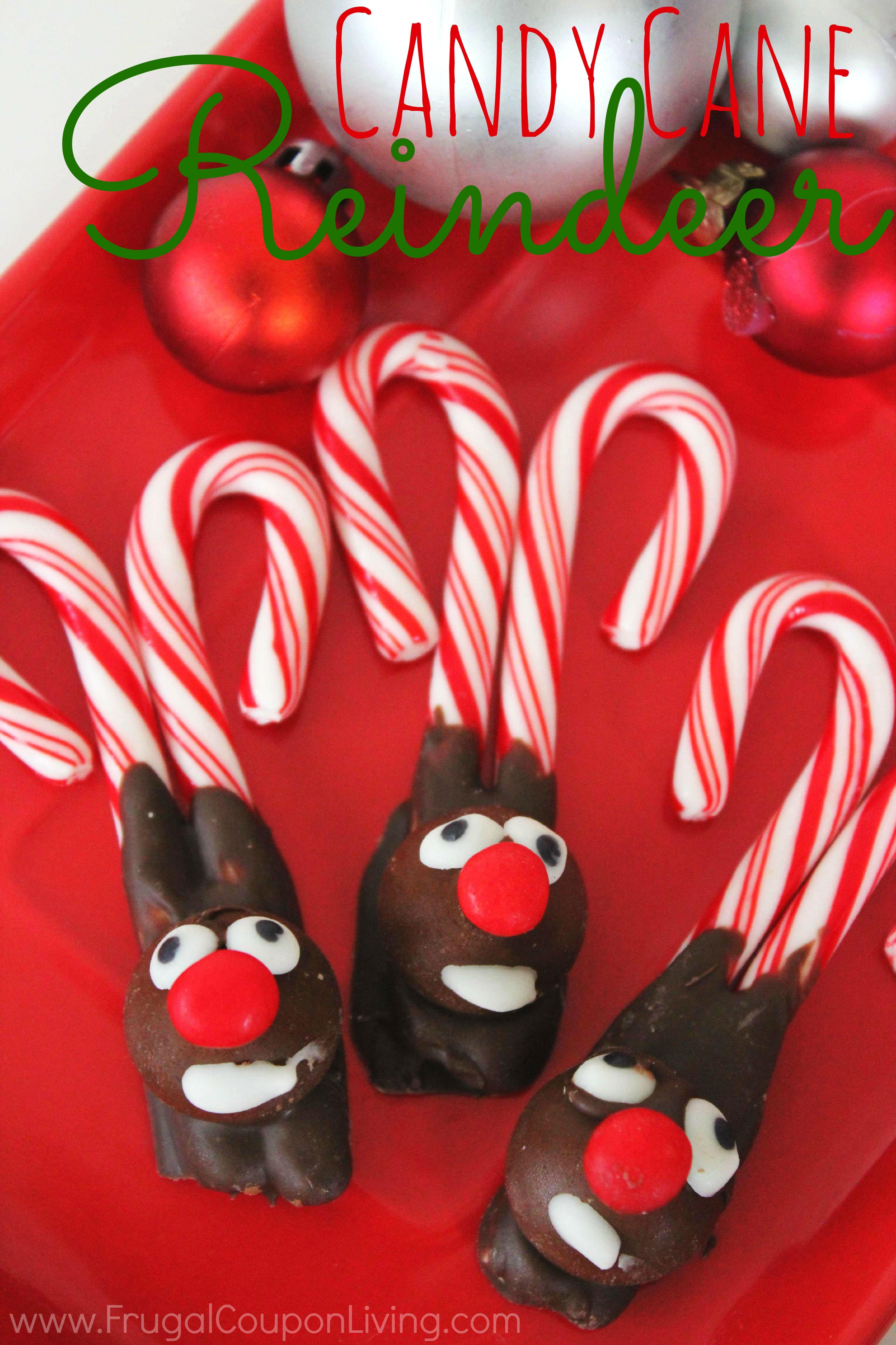 Candy Cane Reindeer – Kids Christmas Food Craft