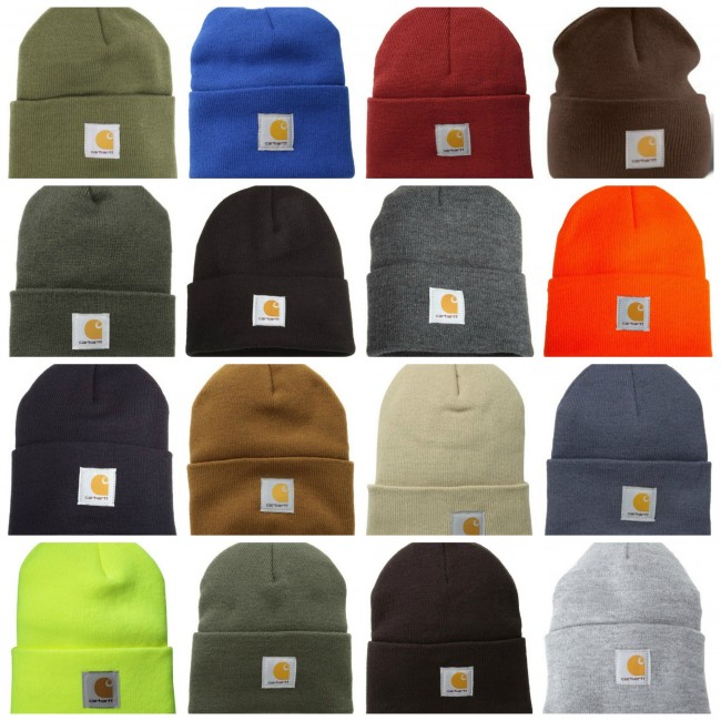 carhartt men's hats collage