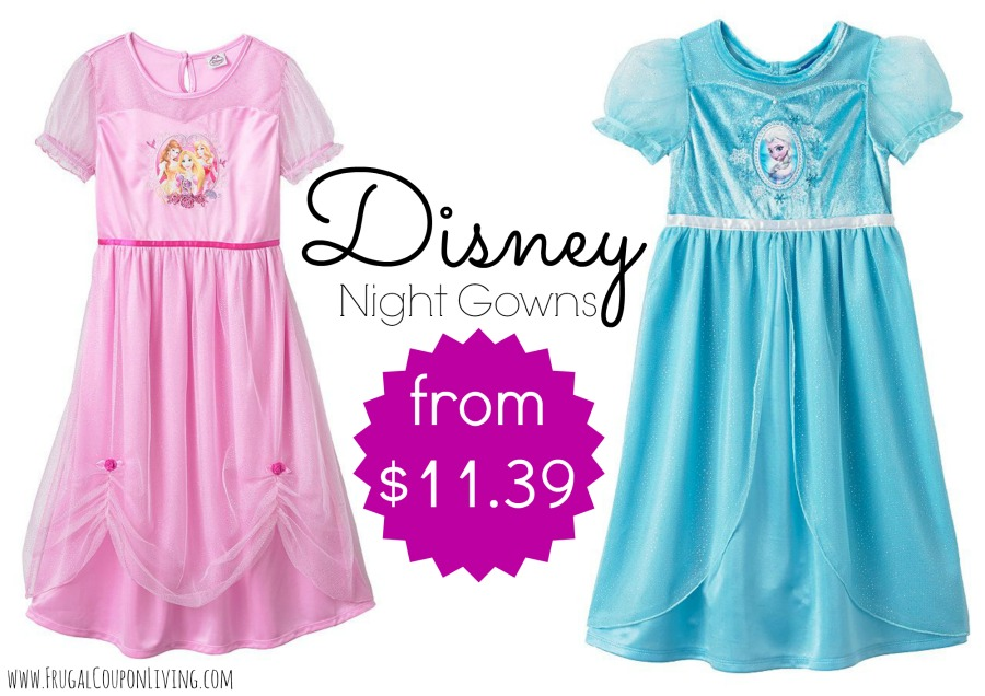 Disney Night Gown Sale from $11.39 Shipped
