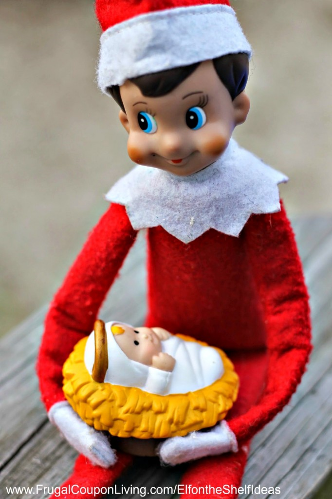 elf-on-the-shelf-ideas-baby-jesus-frugal-coupon-living