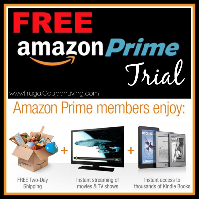 Trial of Amazon Prime = FREE Shipping, Video Streaming and More!