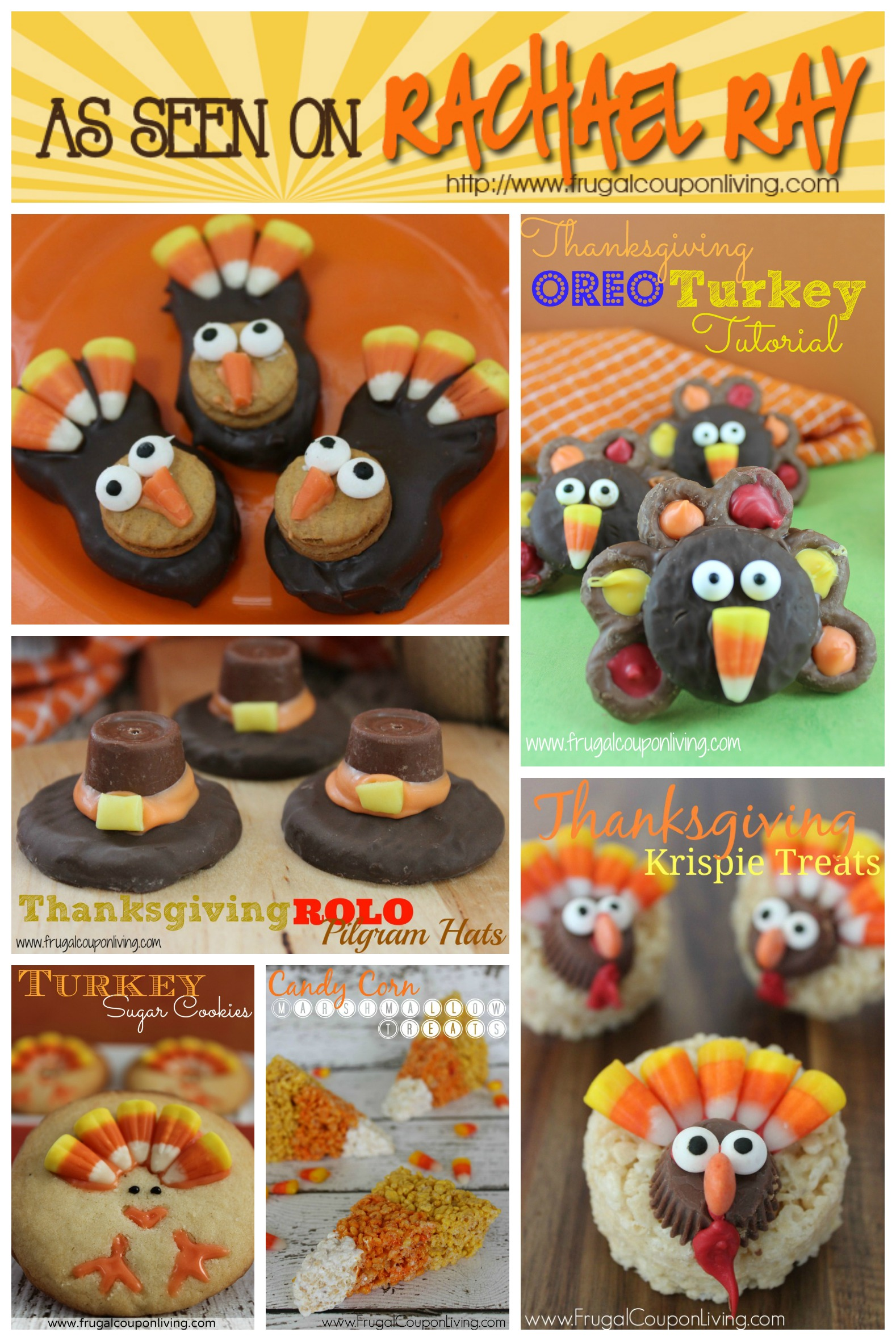 20 easy and fun kids thanksgiving food crafts for Fun kid food crafts