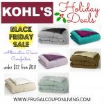 kohls-down-comforter-sale