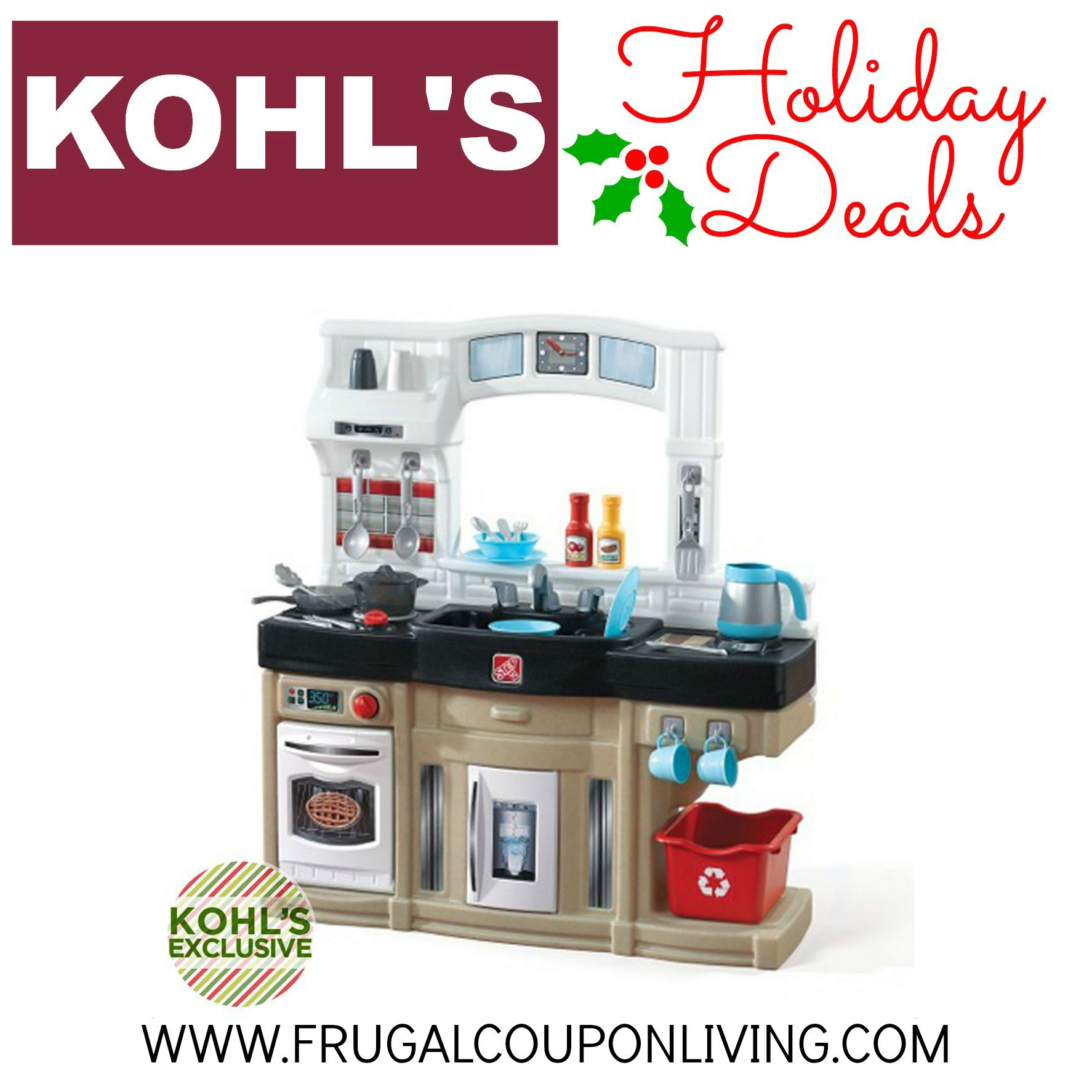 Step2 Kohl s Pre Black Friday Play Kitchen Sale $35 99 from $130