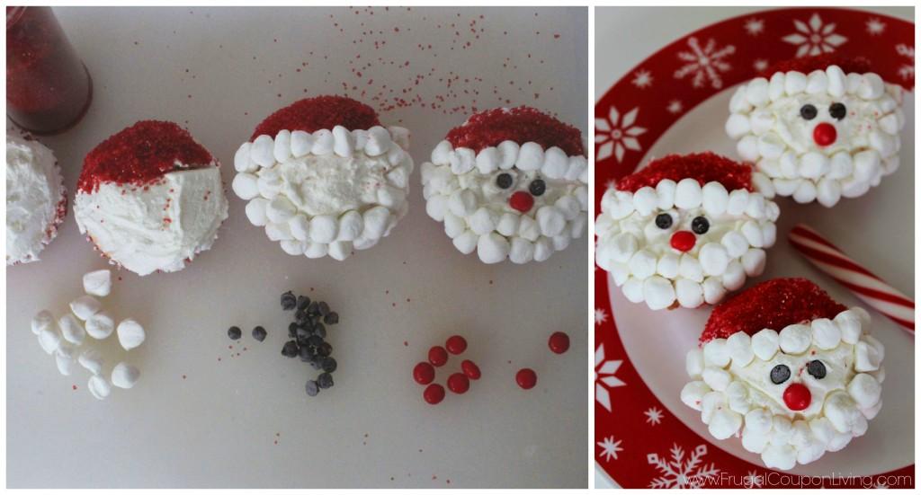 santa-cupcakes-frugal-coupon-living-Collage