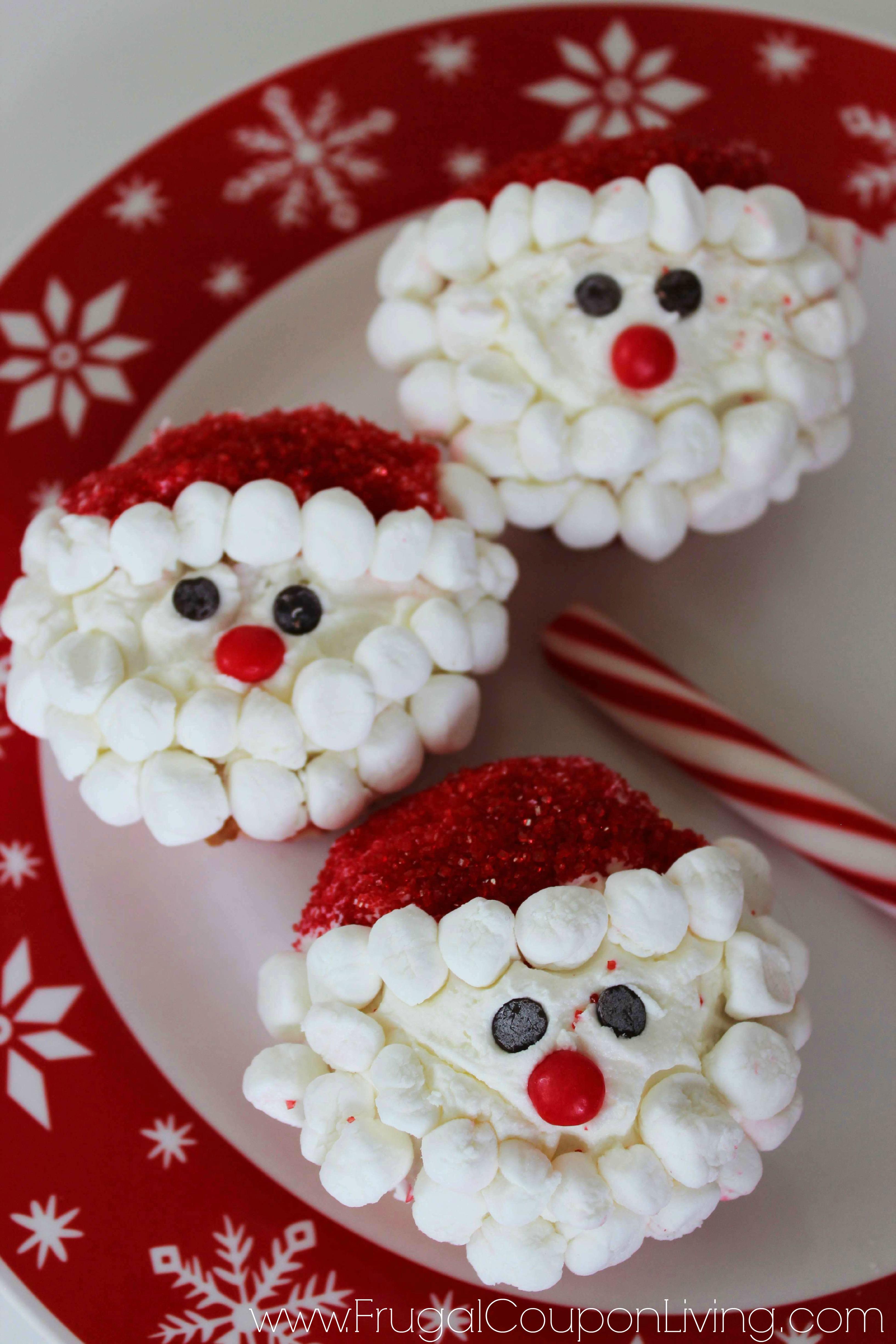Santa Cupcakes Frugal Coupon Living