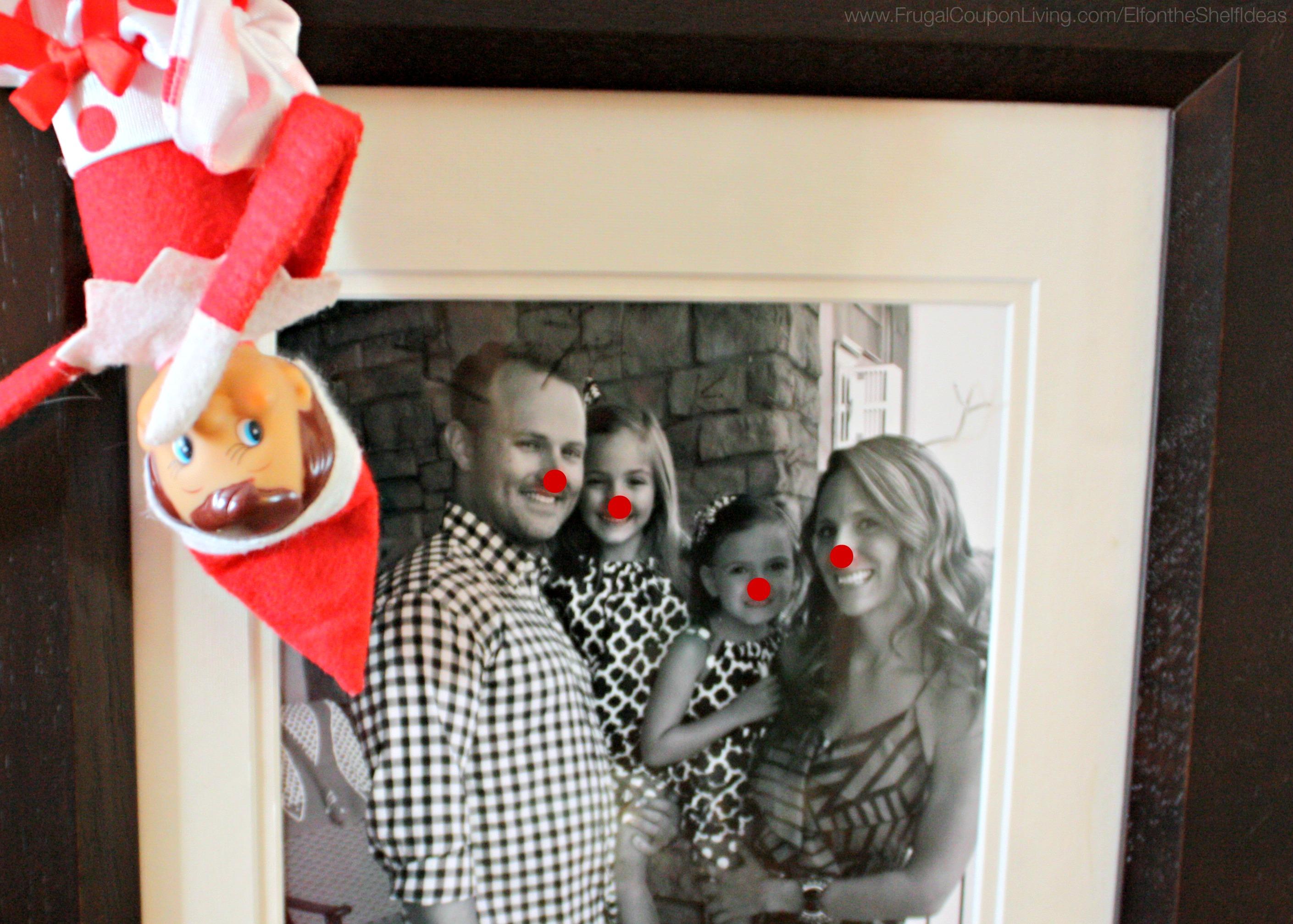 Elf On The Shelf Ideas Elf Makes A Rudolph Family