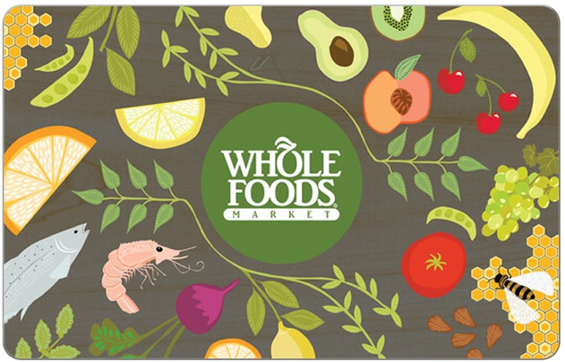 $25 Whole Foods Market eGift Card + $5 Groupon Bucks