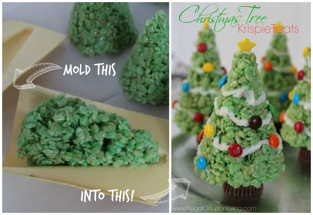 christmas-tree-mold-rice-krispie-treats-Collage-frugal-coupon-living