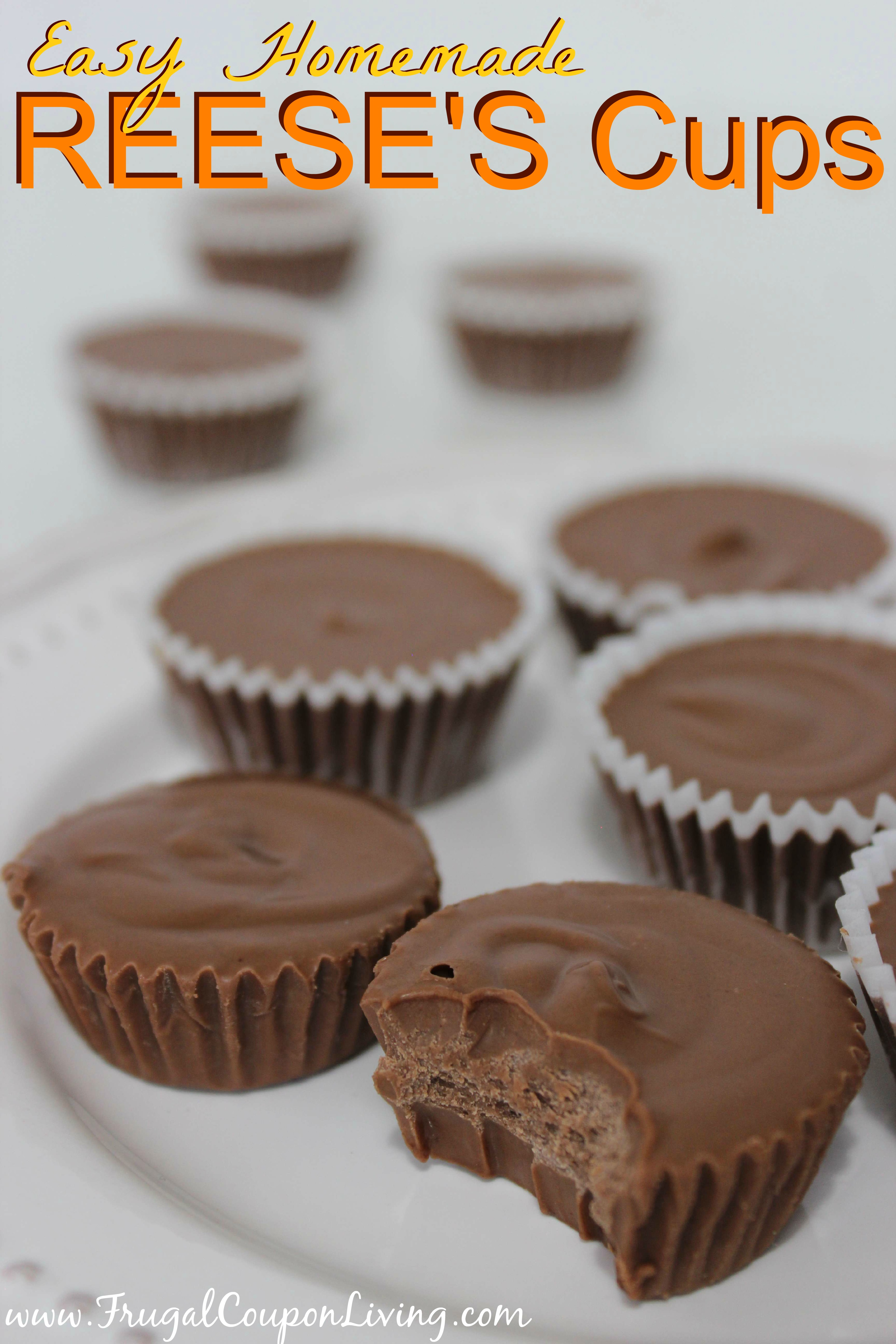 Easy Homemade REESE'S Cups – Chocolate Peanut Butter Meltaways