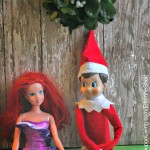 elf-on-the-shelf-ideas-mistletoe
