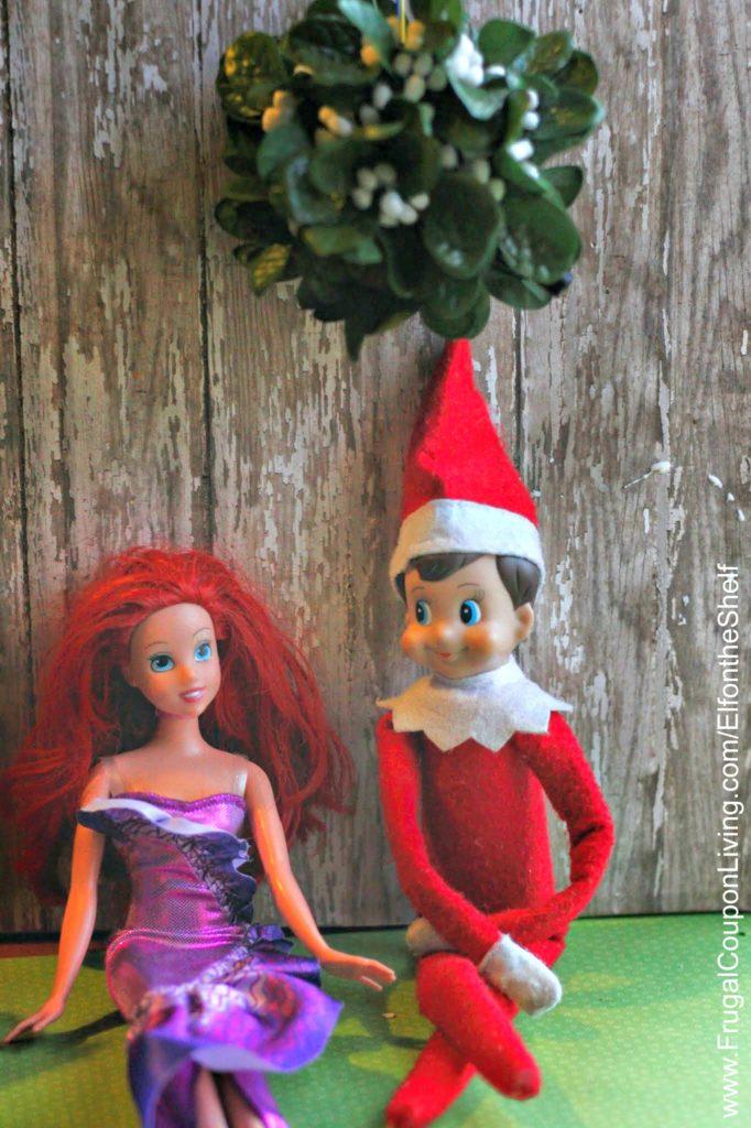 elf-on-the-shelf-ideas-mistletoe